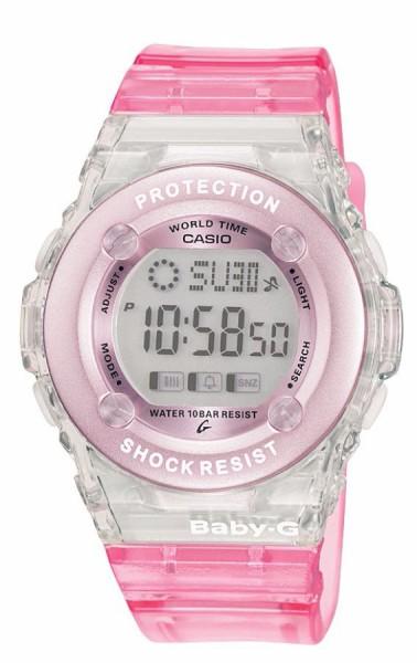 Ladies' Casio Baby-G Alarm Chronograph Watch BG-1302-4ER