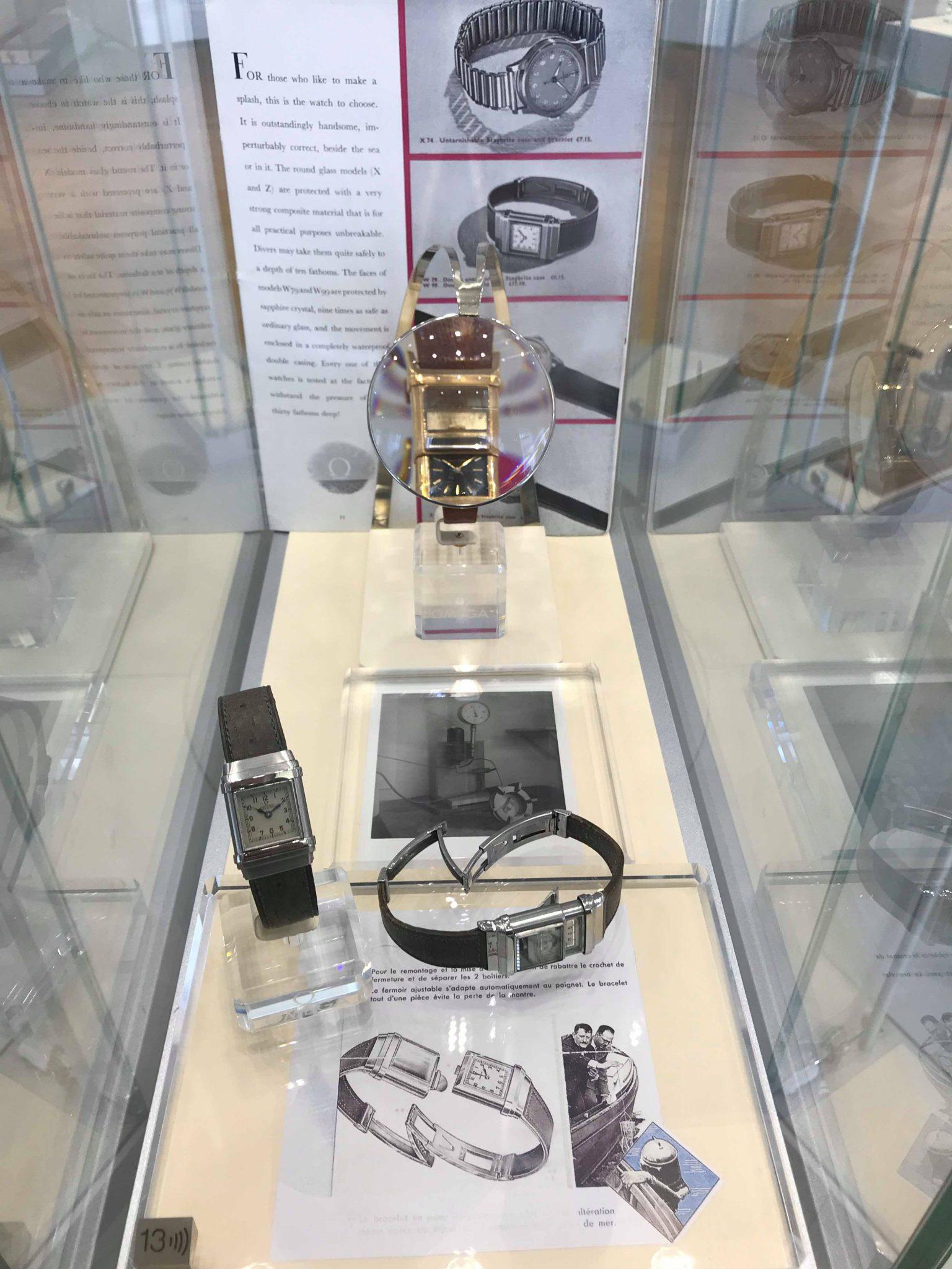 Seamaster Omega watch, Omega Museum, Biel, Switzerland