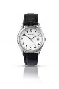 Sekonda Men's Classic Leather Strap Watch