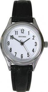 Sekonda Ladies' White Dial Strap Watch